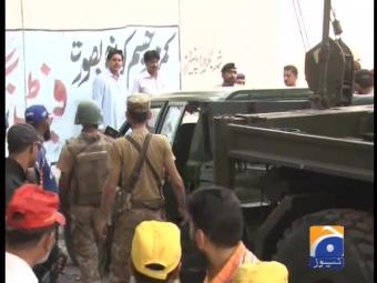 Two army personnel martyred in Karachi gun attack
