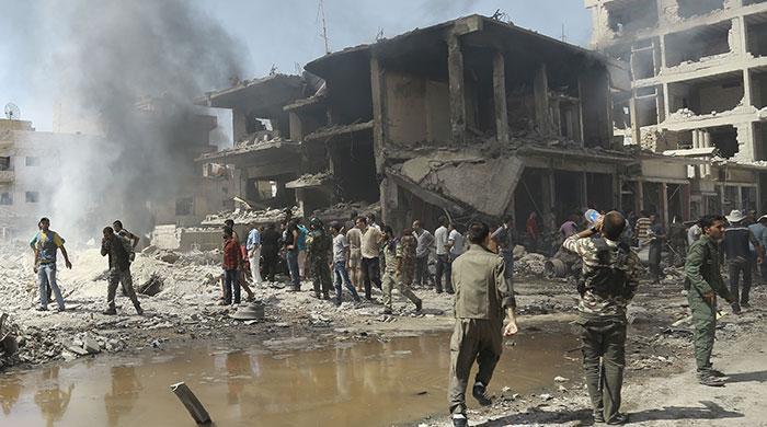 Massive bomb attack kills 44 in Syrian Kurdish city