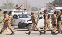 Rangers arrest five suspect in Karachi search operation