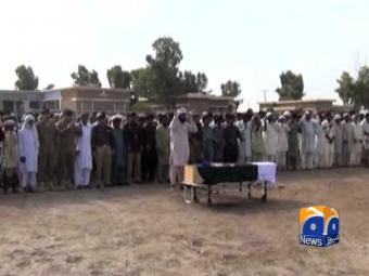 Martyred Army personnel laid to rest in native towns .