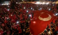 Turkey dismisses military, shuts media outlets as crackdown deepens