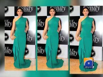 Mahira Khan wins big at Vogue Beauty Awards in India.