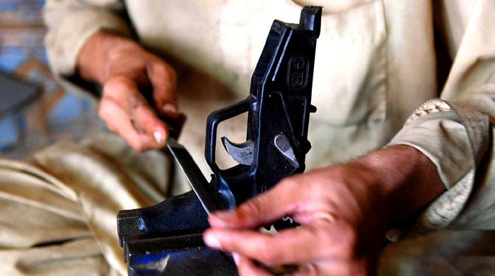 A town near Peshawar where guns sell cheaper than smartphones