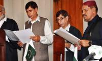 Speaker, deputy speaker elected for AJK assembly