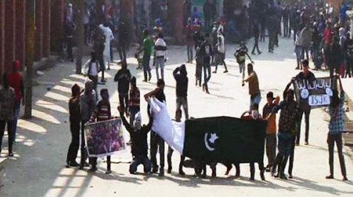 Kashmiris defy curfew, restrictions to mark Pak Independence Day in IoK