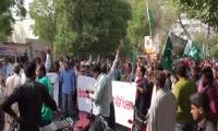 Roads leading to British Consulate in Karachi reopen after protest ends