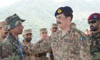COAS visits troops in Kurram, expresses satisfaction over operations