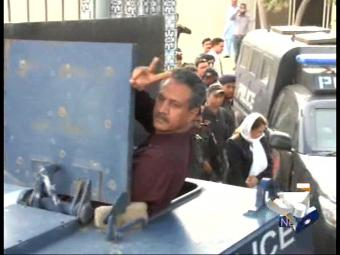 Waseem Akhtar to run Karachi affairs from jail.