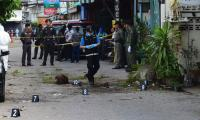Bomb blasts kill one, wound 30 in southern Thailand: police