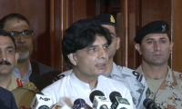 Official reference against Altaf being sent to Britain: Nisar