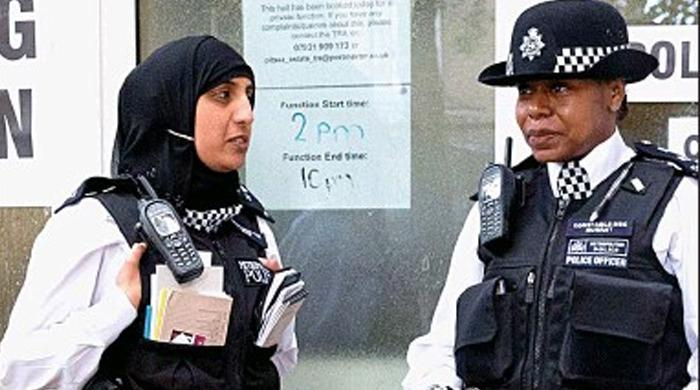 Hijab official part of police uniform in Scotland