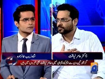Altaf will be responsible if I am killed: Dr Aamir Liaquat,
