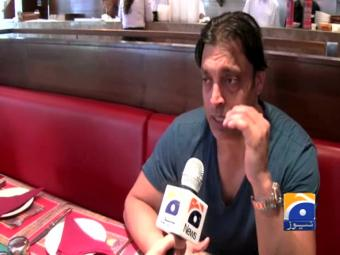 Shoaib Akhtar says playing his part to help humanity.