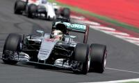Formula One: Rosberg tops session, Hamilton takes penalties