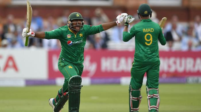 Pakistan score 251 against England in second ODI