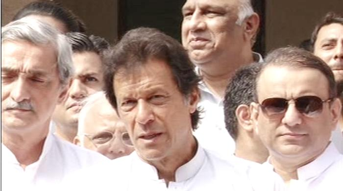Actions of MQM chief against British law: Imran Khan