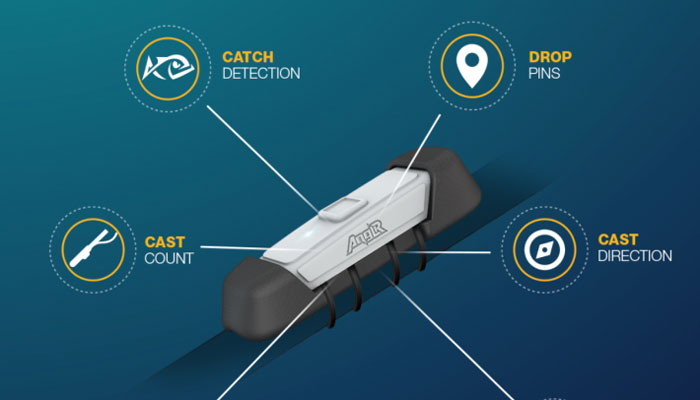 Device hookup anglr the smart fishing device for Are fish smart