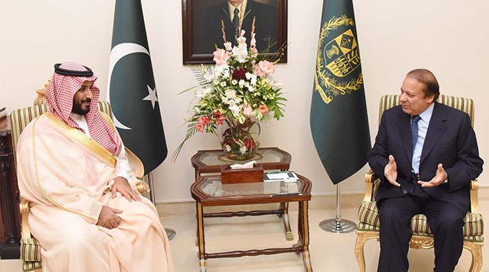 PM, Saudi defence minister pledge to further bilateral ties