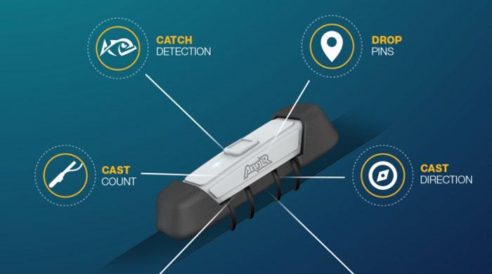 Device hookup: Anglr the smart fishing device