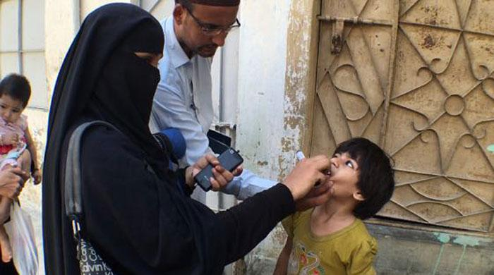 Polio campaign kicks off in Sindh today