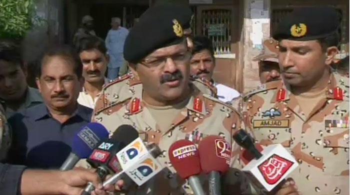 August 22 attack was pre-planned: DG Rangers Sindh