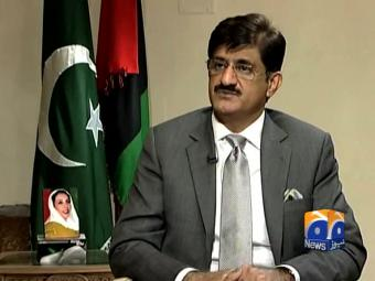 MQM offices being demolished upon my orders: CM Sindh.