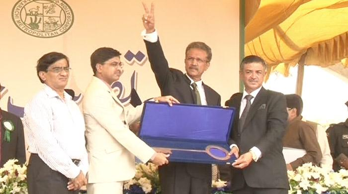 Waseem Akhtar becomes new Mayor of Karachi