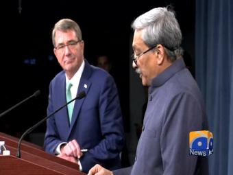 US, India sign military logistics agreement.