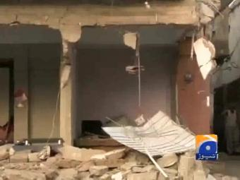 Two more MQM offices razed in Karachi, overall count reaches 32.