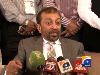 You can raze MQM offices but not break our mandate: Farooq Sattar.