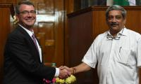US, India sign military logistics agreement