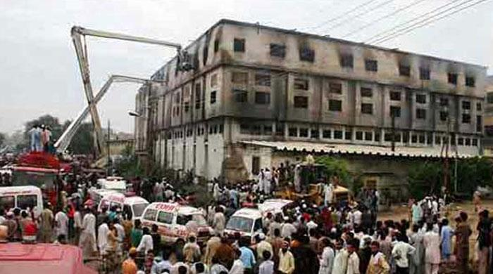 Baldia factory set ablaze at Hammad Siddiqui's behest: challan