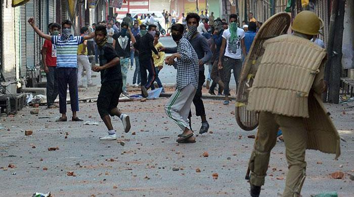 Curfew reimposed in Srinagar, Pulwama amid protest rallies in IOK