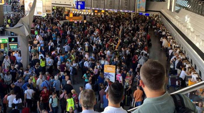 Frankfurt airport terminal evacuated after passenger breaches security