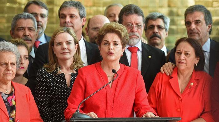 Brazil´s Rousseff stripped of presidency, Temer sworn in