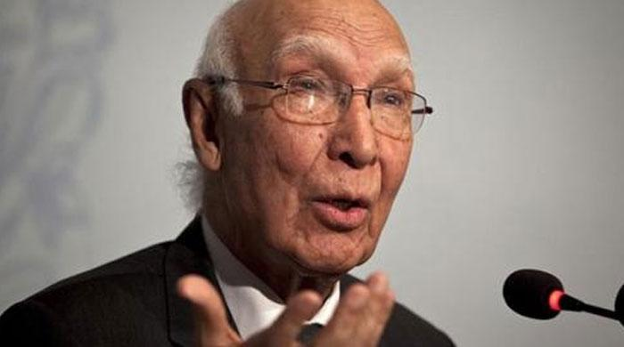 Pakistan not being isolated internationally; stands on the right side: Aziz