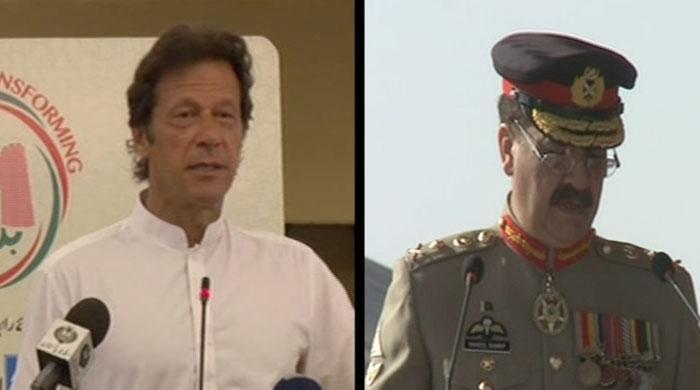 COAS Raheel Sharif, Imran Khan meet in Mardan