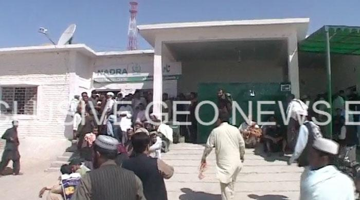 Eid holidays still not over for officers at NADRA in Chaman