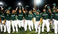 Cricket is king but Pakistan baseball makes strides
