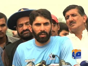 We're ready to play against India: Misbah.