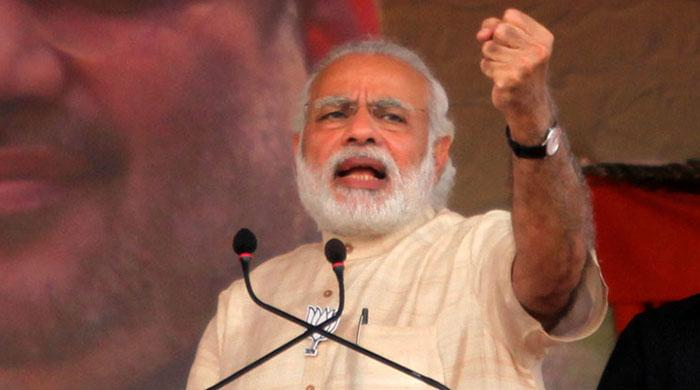 Indian Army won't talk but act: Modi