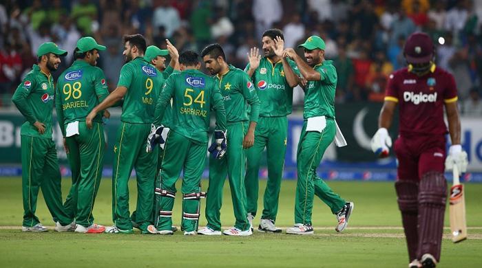 Pakistan need 104 to clean sweep West Indies