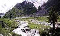 Litter mars picturesque Neelam Valley