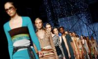 Milan Fashion Week draws to close with Missoni's metallic layered looks