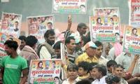 'Pakistan Zindabad' chanted at Indian Congress rally