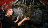 Ukrainians turn ammunition into art to depict horrors of civil war