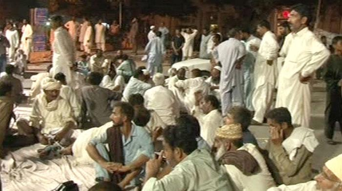 Farmers' protest at Lahore's Charing Cross ends