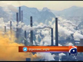 Pakistan ranks 4th in air pollution.