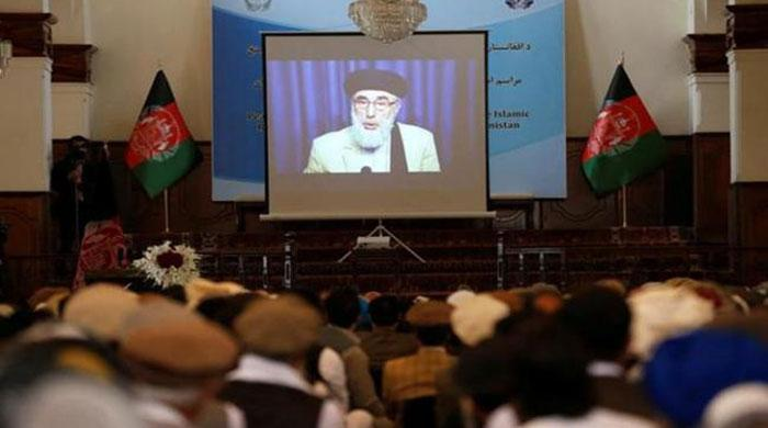 Gulbuddin Hekmatyar calls for peace as signs Afghan pact