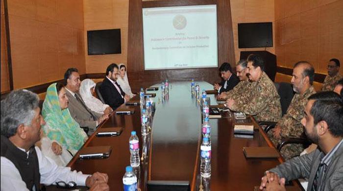 COAS expresses desire to enhance relations with parliamentarians